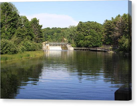 State Park Canvas Print by Chuck Bailey
