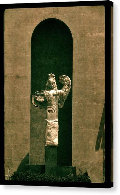 Statues Individual #3 Canvas Print