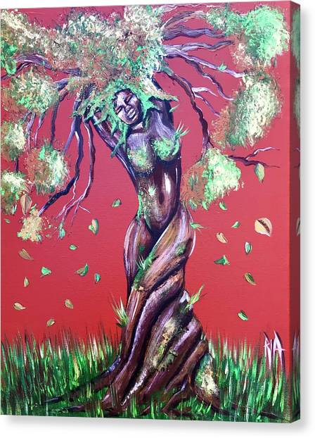 Canvas Print - Stay Rooted- Stay Grounded by RiA RiA