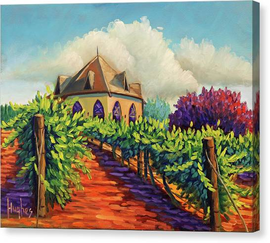 Ste Chappelle Winery Canvas Print