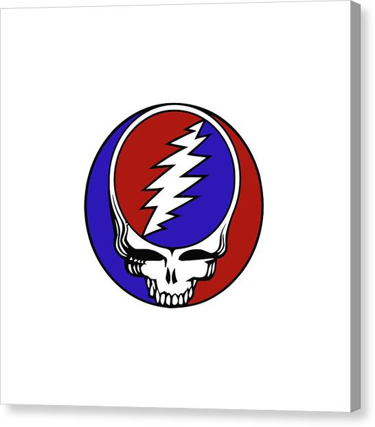 Grateful Dead Canvas Print - Steal Your Face by Gd