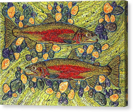 Stealhead Trout Canvas Print
