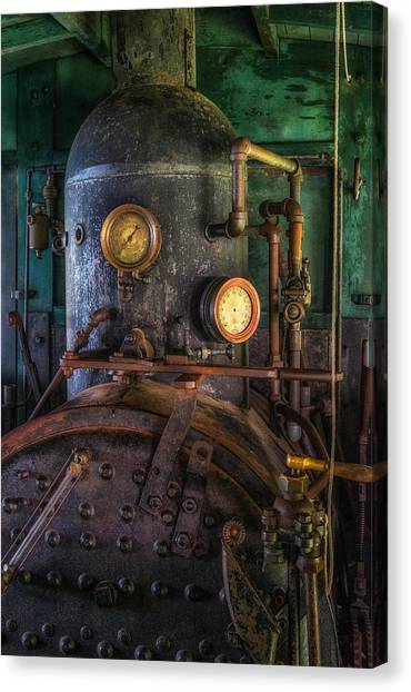 Steam Engine Canvas Print