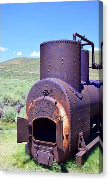 Steam Generator Canvas Print