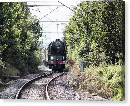Steam Trains Canvas Print - Steam Power by Martin Newman