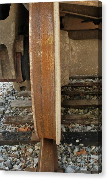 Steel Wheel Canvas Print