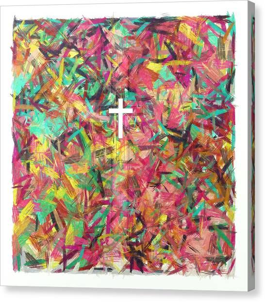 Steer Here Canvas Print