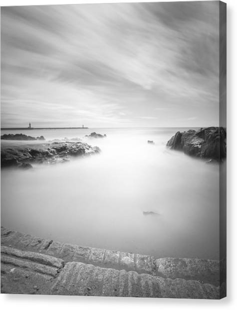 Step Into The Unknown Canvas Print