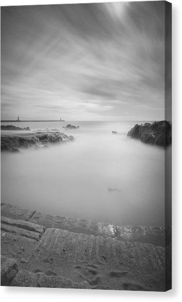 Step Into The Unknown Part 2 Canvas Print