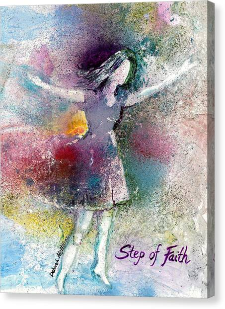 Step Of Faith Canvas Print