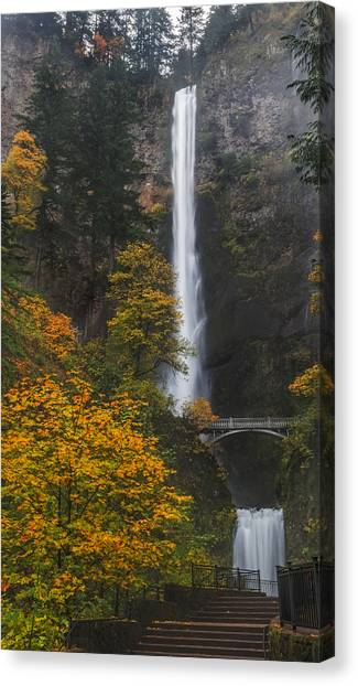 Step Up To Multnomah Canvas Print