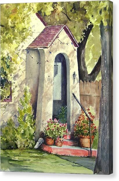 Stephanie's Porch Canvas Print