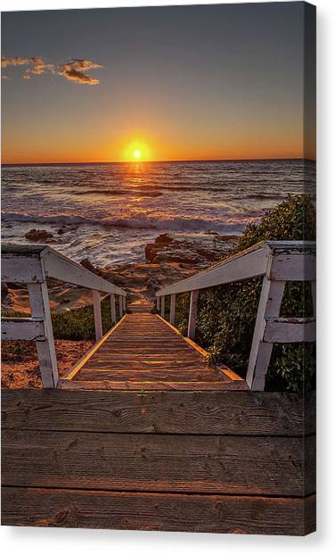 Steps To The Sun  Canvas Print