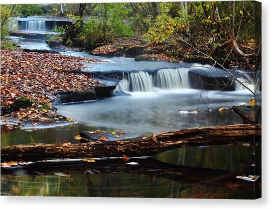 Stepstone Falls Canvas Print