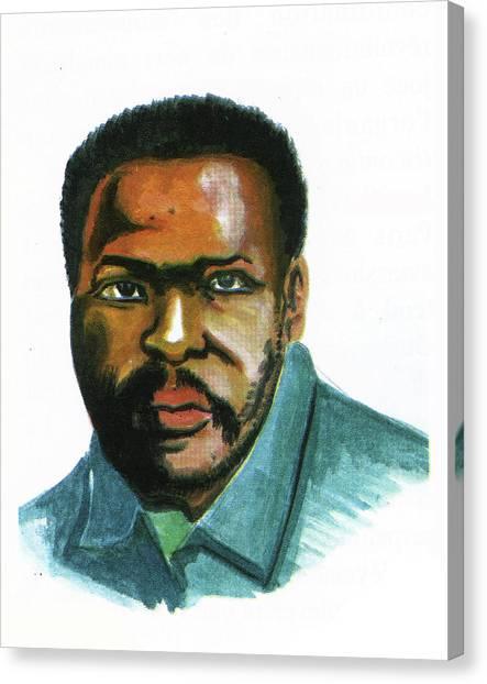 Steve Biko Canvas Print