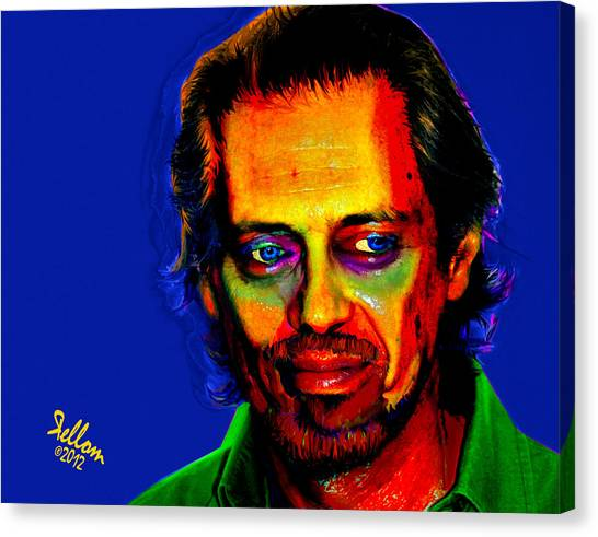 Steve Buscemi Pop Art Canvas Print by Che Moller