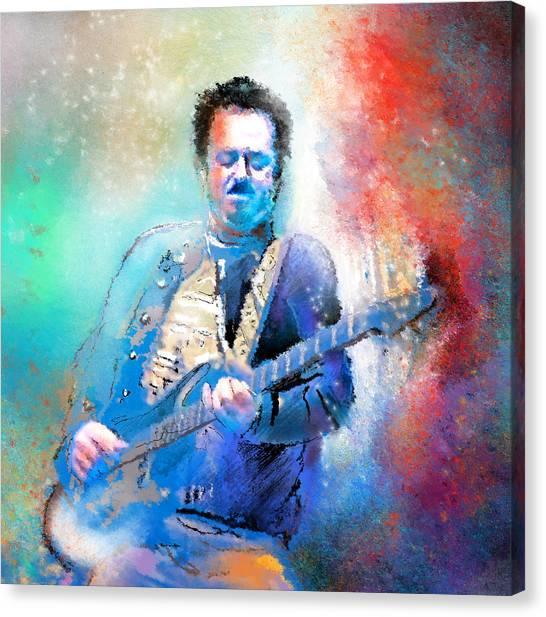 Steve Lukather 01 Canvas Print