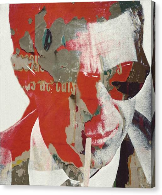 Indiana Canvas Print - Steve Mcqueen by Paul Lovering