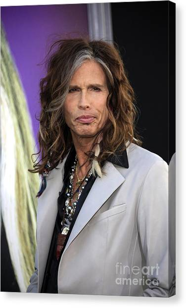 Aerosmith Canvas Print - Steven Tyler by Nina Prommer