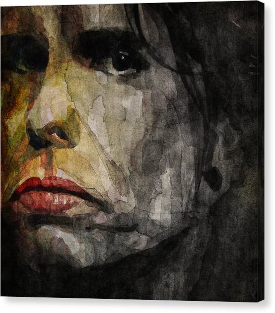 Aerosmith Canvas Print - Steven Tyler  by Paul Lovering