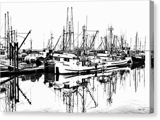Steveston Harbor Canvas Print