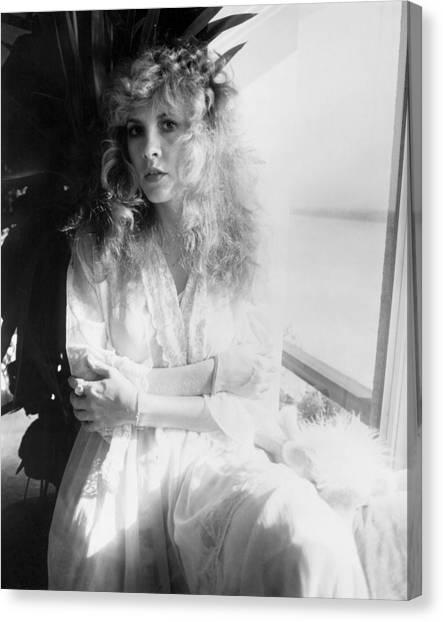 Mac Canvas Print - Stevie Nicks 1981 No.2 by Chris Walter