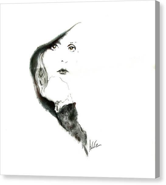 Stevie Nicks Canvas Print by Addie Coppola