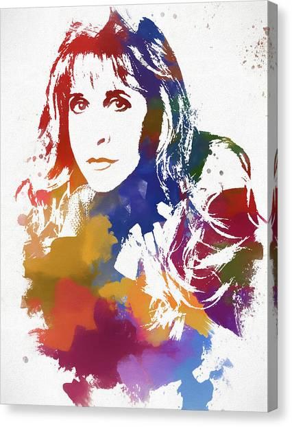 Stevie Nicks Canvas Print - Stevie Nicks by Dan Sproul
