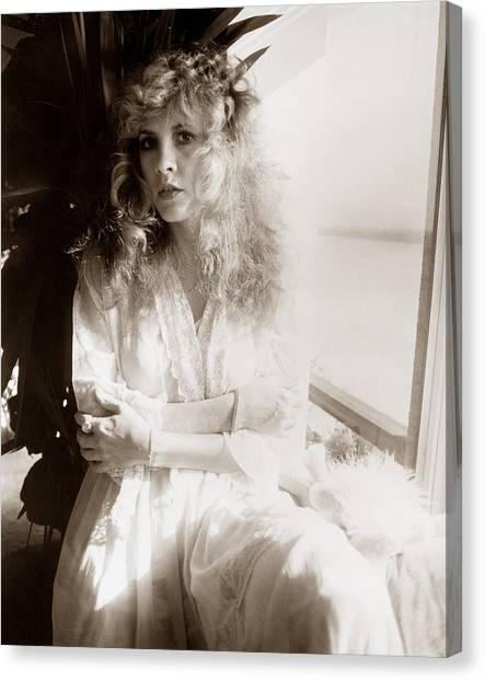 Stevie Nicks Canvas Print - Stevie Nicks 1981 No.1 by Chris Walter
