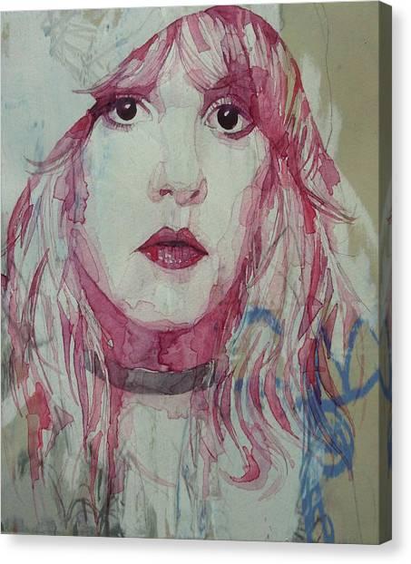 Stevie Nicks Canvas Print - Stevie Nicks - Gypsy  by Paul Lovering