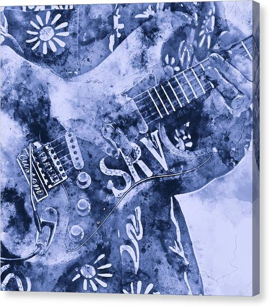 Stevie Ray Vaughan - 04 Canvas Print