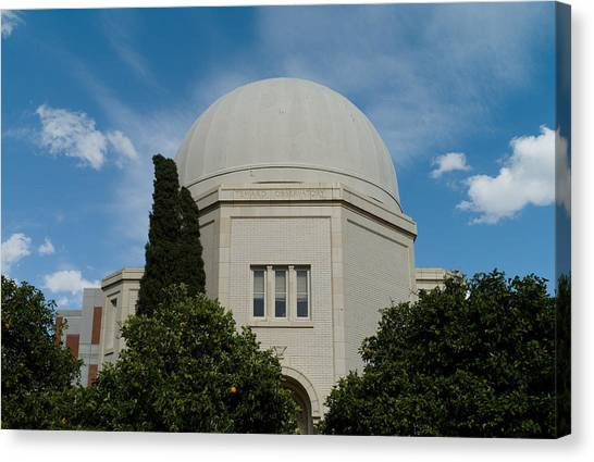 University Of Arizona Ua Canvas Print - Steward Observatory by Robert Rose
