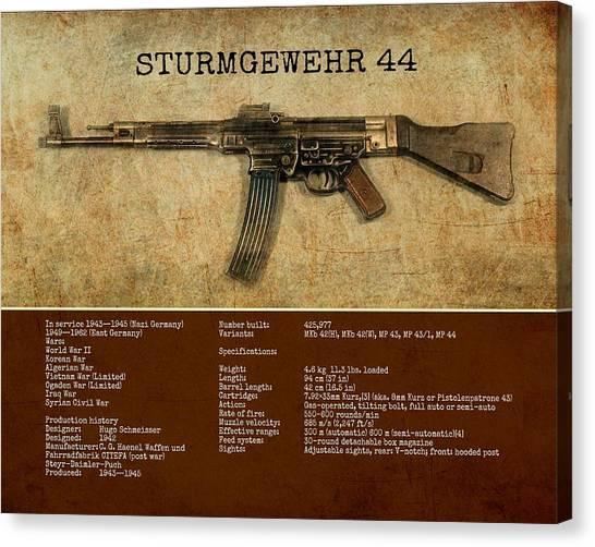 Stg 44 Sturmgewehr 44 Canvas Print