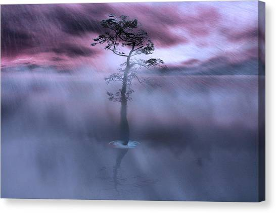 Stick Together The Storm Will Pass Canvas Print