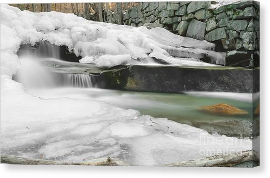 Stickney Brook Falls Canvas Print