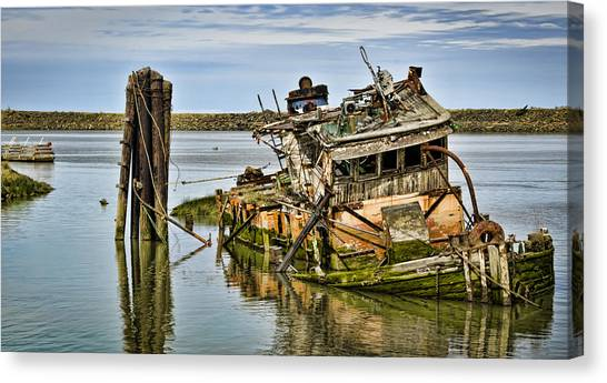 Still Afloat Canvas Print