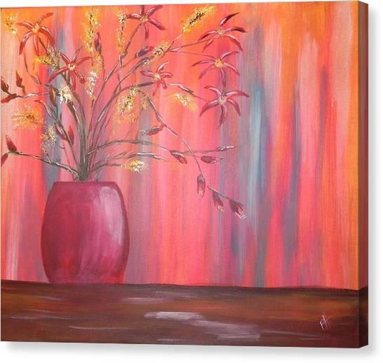 Still Colors Canvas Print by Patti Spires Hamilton