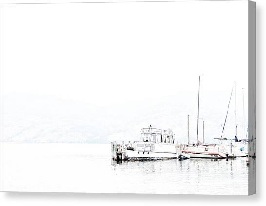Still Harbour Canvas Print