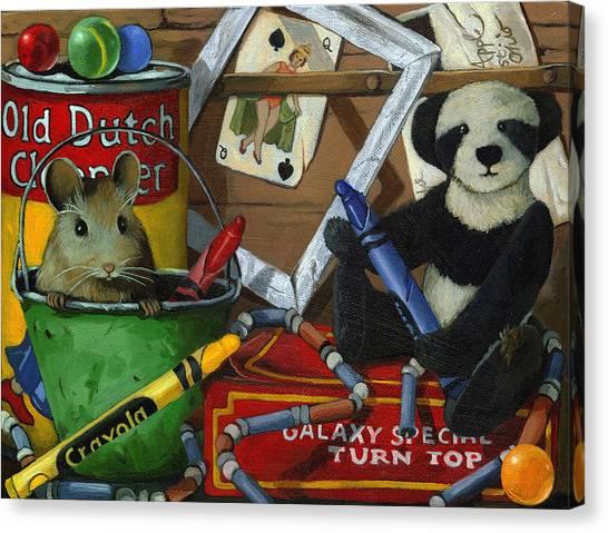 Fantasy Realistic Still Life Canvas Print - Still Life - Galaxy Special by Linda Apple