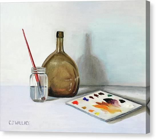Still Life After Nc Wyeth Canvas Print