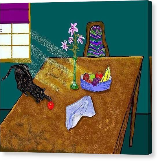 Still Life Canvas Print by Carole Boyd