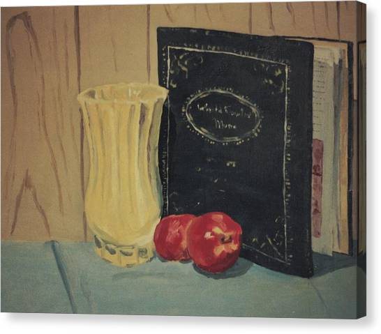 Still Life In College Canvas Print