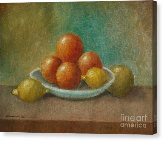 Still Life No-6 Canvas Print by Kostas Koutsoukanidis