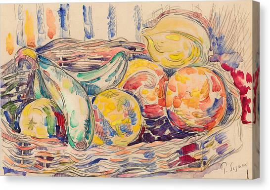 Signac Canvas Print - Still Life  by Paul Signac