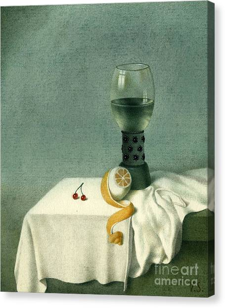 Still Life With A Goblet Canvas Print