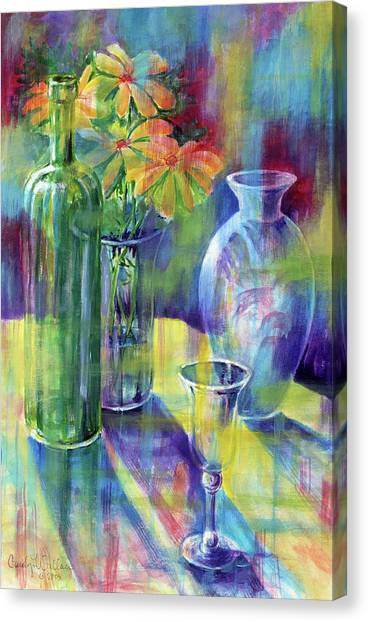 Still Life With Color Canvas Print