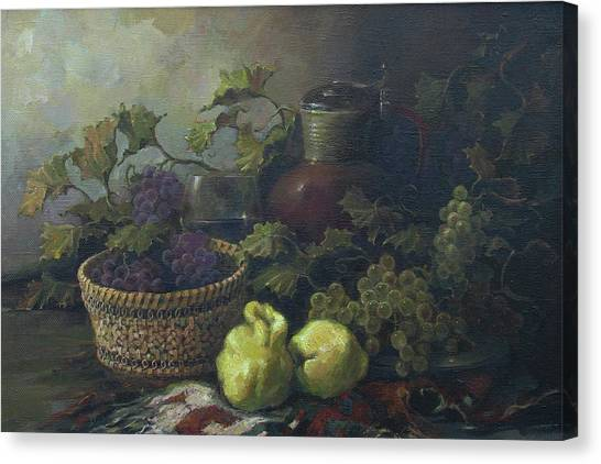 Still-life With Quinces Canvas Print