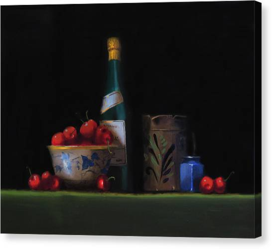 Still Life With The Alsace Jug Canvas Print