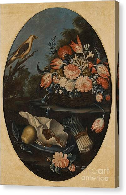 Caterpillers Canvas Print - Still Lifes Of Birds by MotionAge Designs