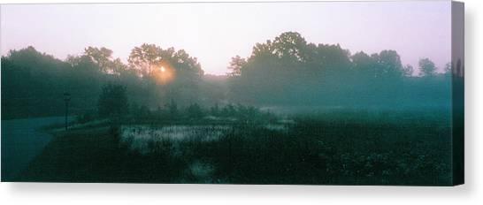 Still Mist Canvas Print by Tom Hefko